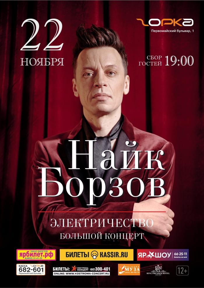 Найк Борзов | Электричество. Большой концерт